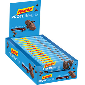 PowerBar ProteinPlus Low Sugar Sportvoeding met basisprijs Chocolate Brownie 30 x 35g